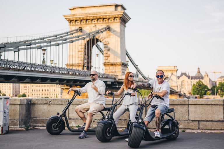 Budapest E-scooters straight from the future